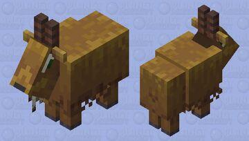 Brown Goat    -Waltter Minecraft Mob Skin