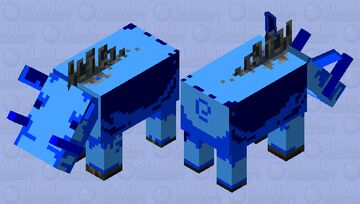 frozen hogsicle Minecraft Mob Skin