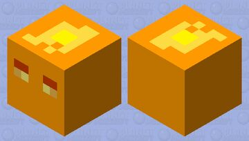 pancake magma cube Minecraft Mob Skin