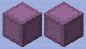 Shulker With Purple Head Minecraft Mob Skin