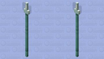 Spear of the Depths Minecraft Mob Skin
