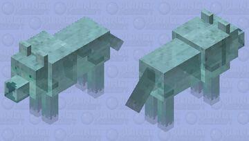 Spirit wolf 8 Minecraft Mob Skin
