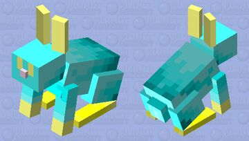 Blupe Minecraft Mob Skin