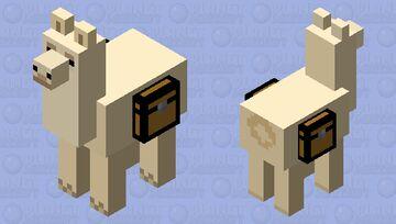 Clean Llama Minecraft Mob Skin