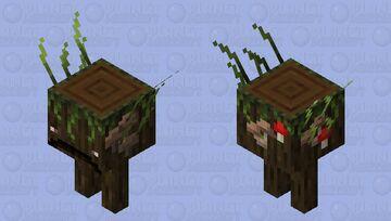 [Biome Swap] Dark Oak Strider Minecraft Mob Skin