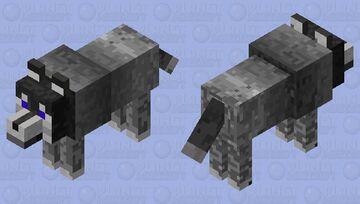 Husky dog Minecraft Mob Skin