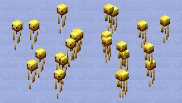 A bunch of tiny blazes Minecraft Mob Skin