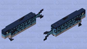 Atlantic Mackerel Minecraft Mob Skin