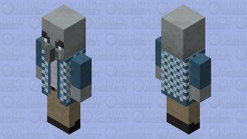 another retextured vindicator Minecraft Mob Skin