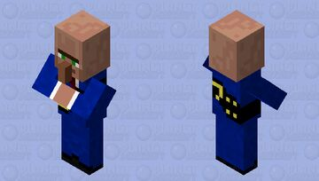 Mayor - village Minecraft Mob Skin