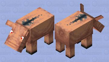 friendlie hoglin Minecraft Mob Skin