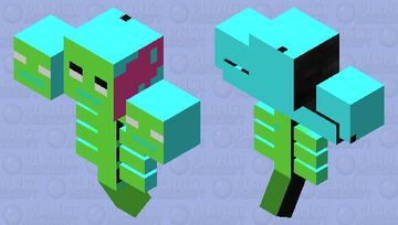Weird looking wither Minecraft Mob Skin