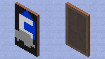 Moongem Logo cape Minecraft Mob Skin