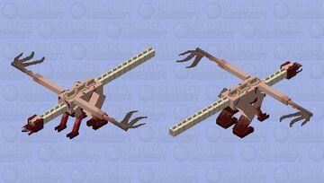 Tormentor Necromorph Minecraft Mob Skin