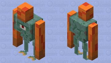 Guardian Golem Minecraft Mob Skin