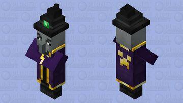 Better Witch / feminine / re-re-remade / illager Minecraft Mob Skin