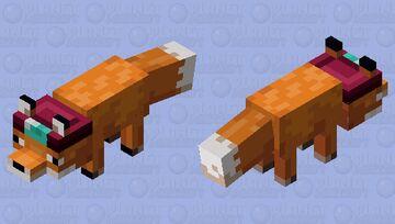 Enchanter fox Minecraft Mob Skin