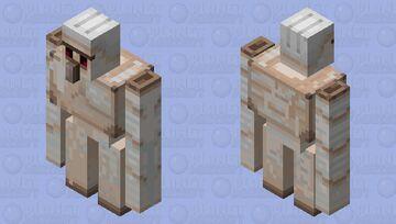 Clean Golem (No Vines) Minecraft Mob Skin