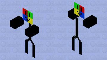 Windows XP zombie Minecraft Mob Skin