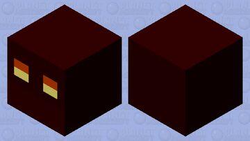 Clean Magma Cube Minecraft Mob Skin