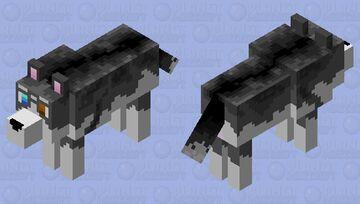 husky Minecraft Mob Skin