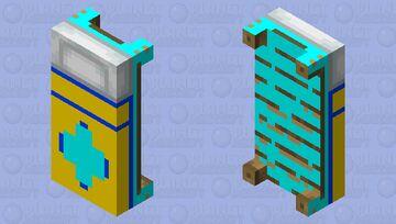 god bed Minecraft Mob Skin