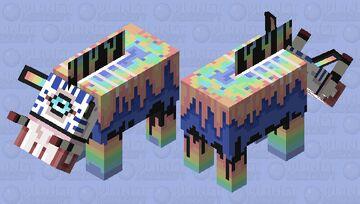 hoglin rain fade Minecraft Mob Skin