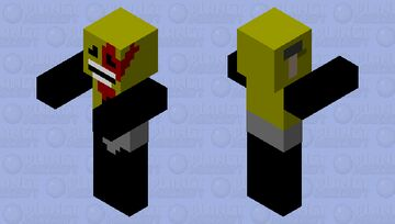 Zombie Lightbulb - inanimate insanity and battle for dream island zombie's Minecraft Mob Skin
