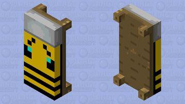 Beesue Bed Minecraft Mob Skin