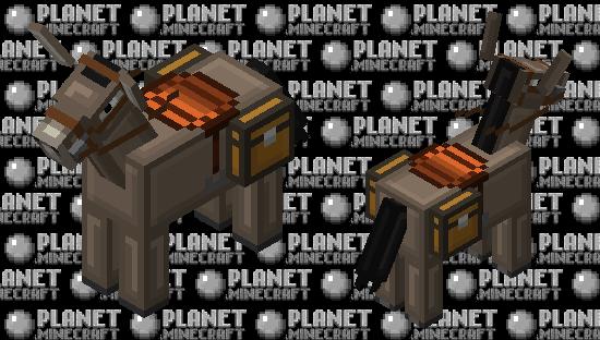 Simplistic Donkey Minecraft Skin