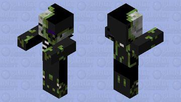 Ender Zombie Minecraft Mob Skin