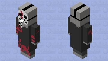 Murderous vindicator Minecraft Mob Skin