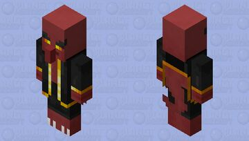 Nillager / with his clothes Minecraft Mob Skin