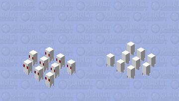 Smol ghosts Minecraft Mob Skin
