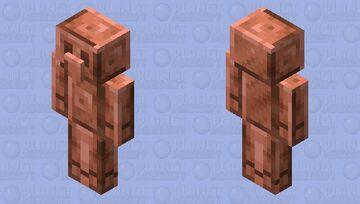 Copper golem (mob vote) Minecraft Mob Skin