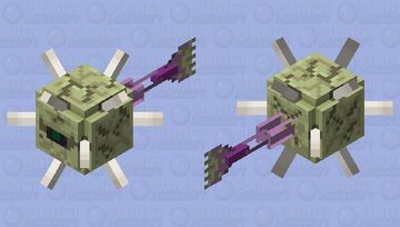 End Guardian Minecraft Mob Skin