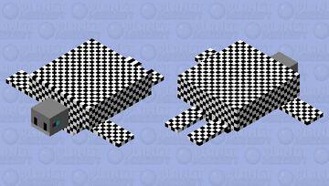 Chess Turtle Minecraft Mob Skin