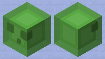 Clean Slime Minecraft Mob Skin