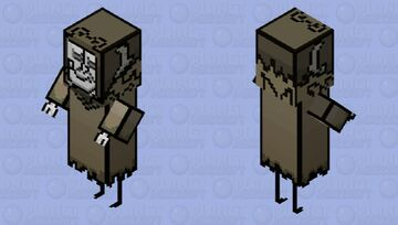 Don't Starve Together - Curio Collector Minecraft Mob Skin