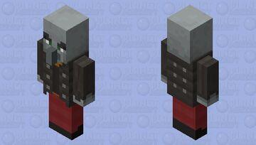 Better Vindicator Minecraft Mob Skin