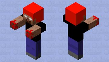 stranger herobrine Minecraft Mob Skin