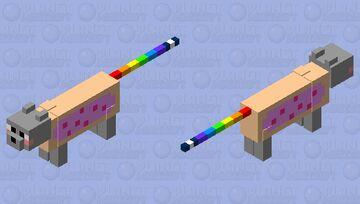 Nyan Cat Minecraft Mob Skin