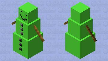green snow golem Minecraft Mob Skin
