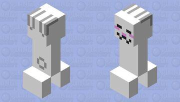 creeping bunny 🐰🤨 Minecraft Mob Skin