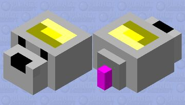 RAT >:(  (endermite) Minecraft Mob Skin