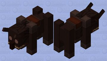 Grotesque  Ravager (𝕱𝖔𝖗𝖇𝖎𝖉𝖉𝖊𝖓 𝕾𝖔𝖚𝖑𝖘) Minecraft Mob Skin