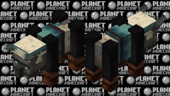 Snow Ravager Minecraft Skin