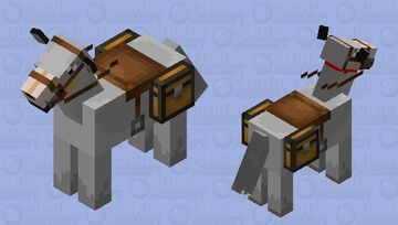 giant rideable wolf for  donkeys#very wired Minecraft Mob Skin