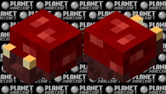 snail / (nether/crimson) Minecraft Skin