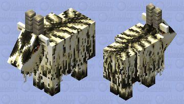 Goat number two  (darker) Minecraft Mob Skin